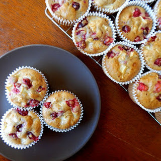 Cranberry Apple Muffins.