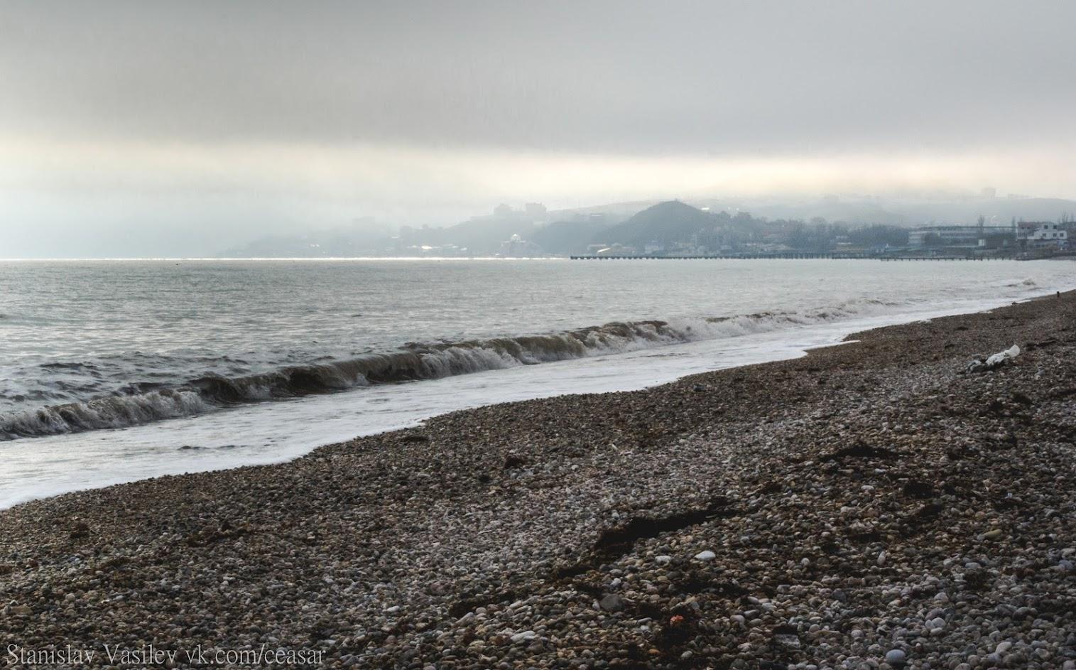 Коктебель, Чёрное море, февраль