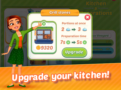 Delicious World - Romantic Cooking Game 1.8.7 screenshots 8