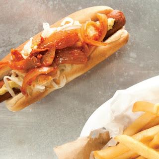 Hot Dog! New York-Style Sautéed Onions.