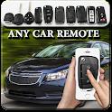 car remote universal icon