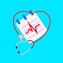 Blood Pressure Tracker - BP Checker & History Log icon