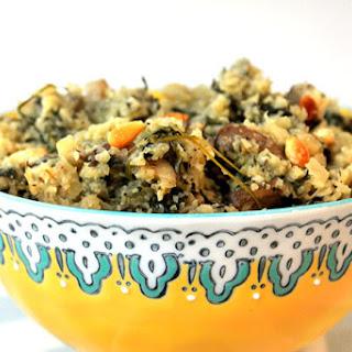 Truffled Mushroom Cauliflower Risotto