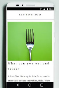 Low Fiber Diet for Beginners - náhled
