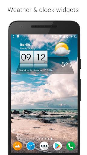 3D Sense Clock & Weather 5.00.05 gameplay | AndroidFC 1