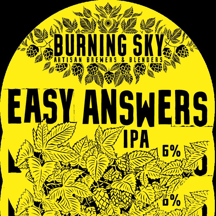 Logo of Burning Sky Easy Answers