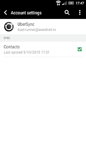 UberSync- screenshot thumbnail