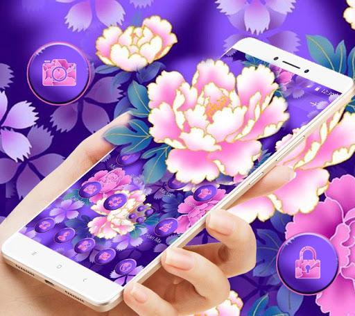 Bloom Purple Pretty Flower Theme hack tool