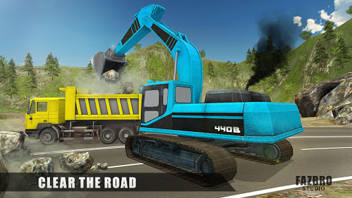 Heavy Excavator Rock Mining Stone Cutter Simulator 4.2 screenshots 8