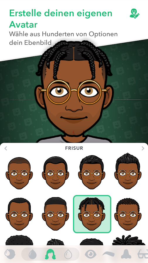 Bitmoji – dein Avatar-Emoji – Screenshot
