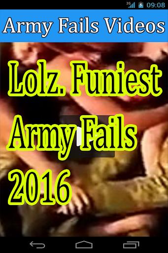 Army Fails Videos