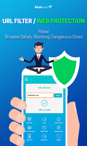 Antivirus Cleaner For Android BSafe VPN AppLock for PC