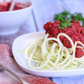 TomatoLess Meat Sauce