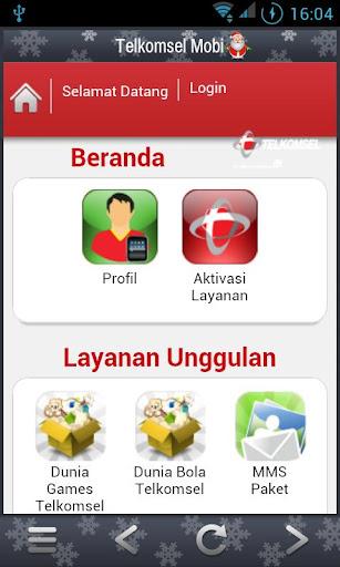 Telkomsel Mobi screenshot 1