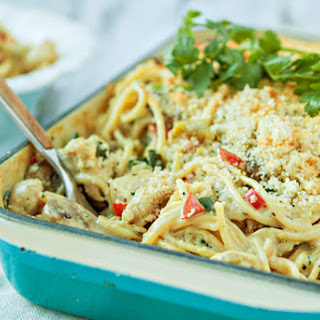 Green Chile Turkey Tetrazzini
