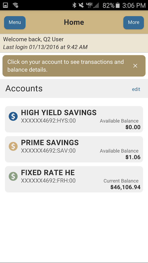 Red Rocks Mobile Banking- screenshot