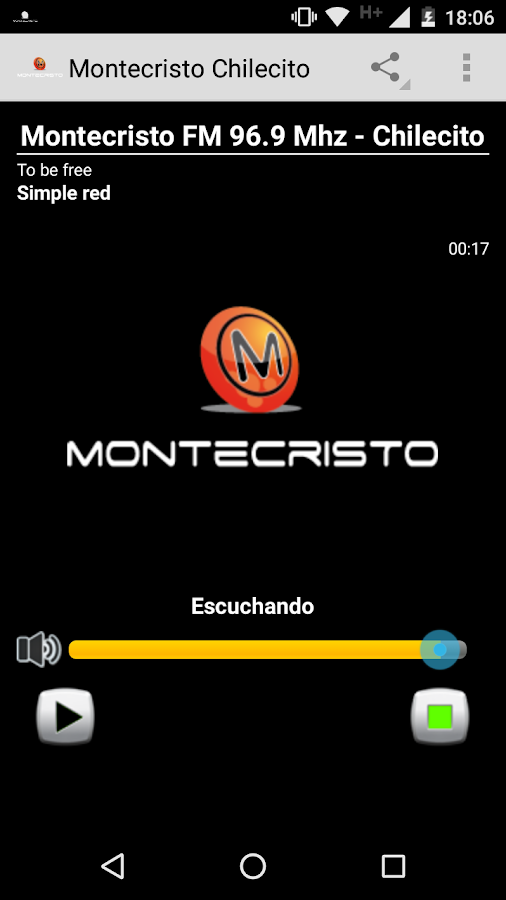 Montecristo FM Chilecito- screenshot