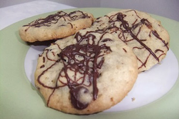 Cookies de Chocolate com Passas