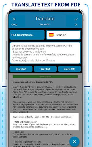 PDF Scanner - Scan documents, photos, ID, passport screenshots 11