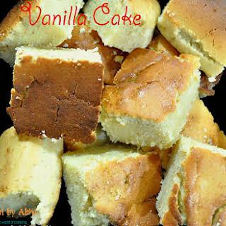 Basic Vanilla Cake.