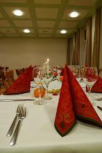 Photo: Schön dekorierte Tische im Sääli