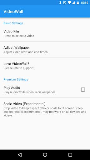 VideoWall - Video Wallpaper 1.3.10 screenshots 2