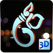 3D Ganesh Icons Live Wallpaper
