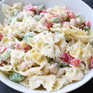 Pasta Salad With Chickpeas Recipes.