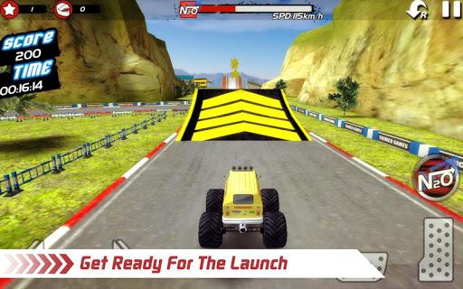 無料模拟Appのモンスタートラック4x4のスタントレース|記事Game