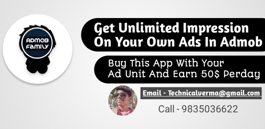 Download Self Click - Earn Money From Admob APK latest