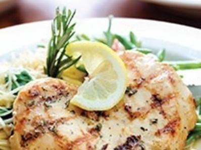 Lemon-olive Grilled Chicken Recipe