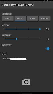 DualFisheye Plugin Remote 1