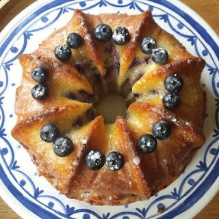 Our Lemon Quark Cake Is Moist, Moreish And Bursting With Blueberries.