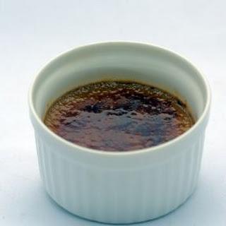Coffee Crème Brulee.