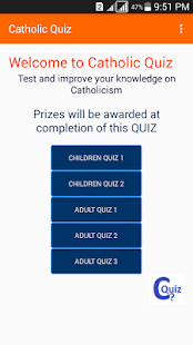 Catholic Quiz- screenshot thumbnail