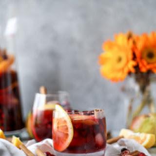 Cranberry Chai Sangria