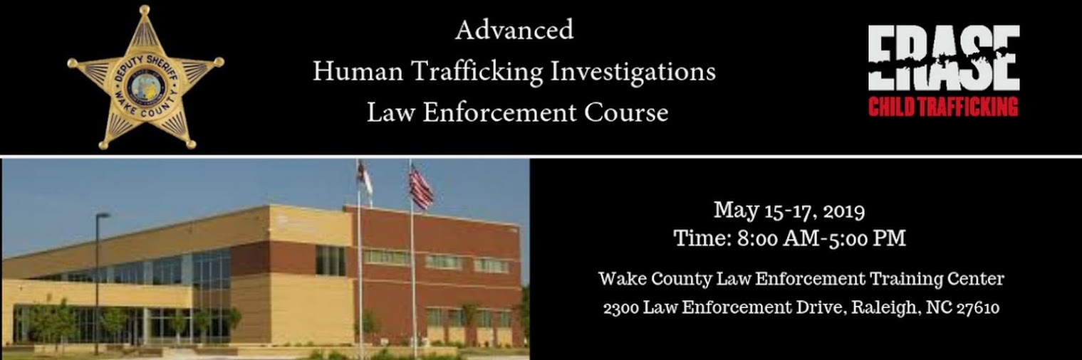 Advanced Human Trafficking Investigations Law Enforcement Course