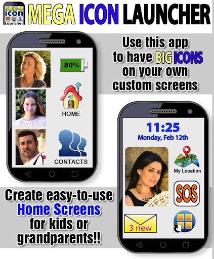 Mega Icon Launcher easy mode