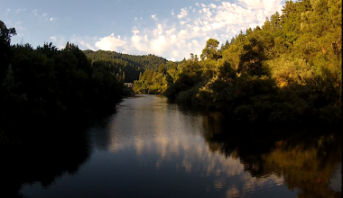 Photo: Shot some more video on the way home tonight... editing... BEAUTIFUL! A screengrab: