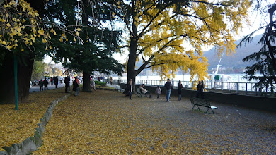 Photo: Mid November Sunday afternoon- Lake Como