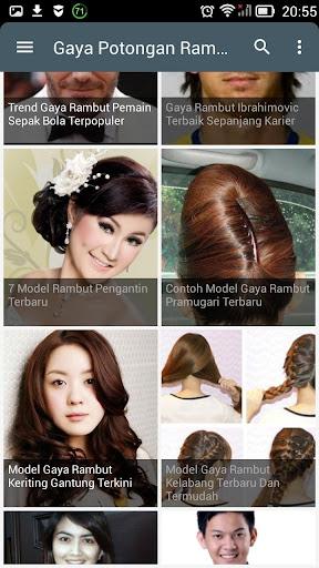 Download Gaya Potongan Rambut Terbaru Google Play softwares ... ad761e6b3e