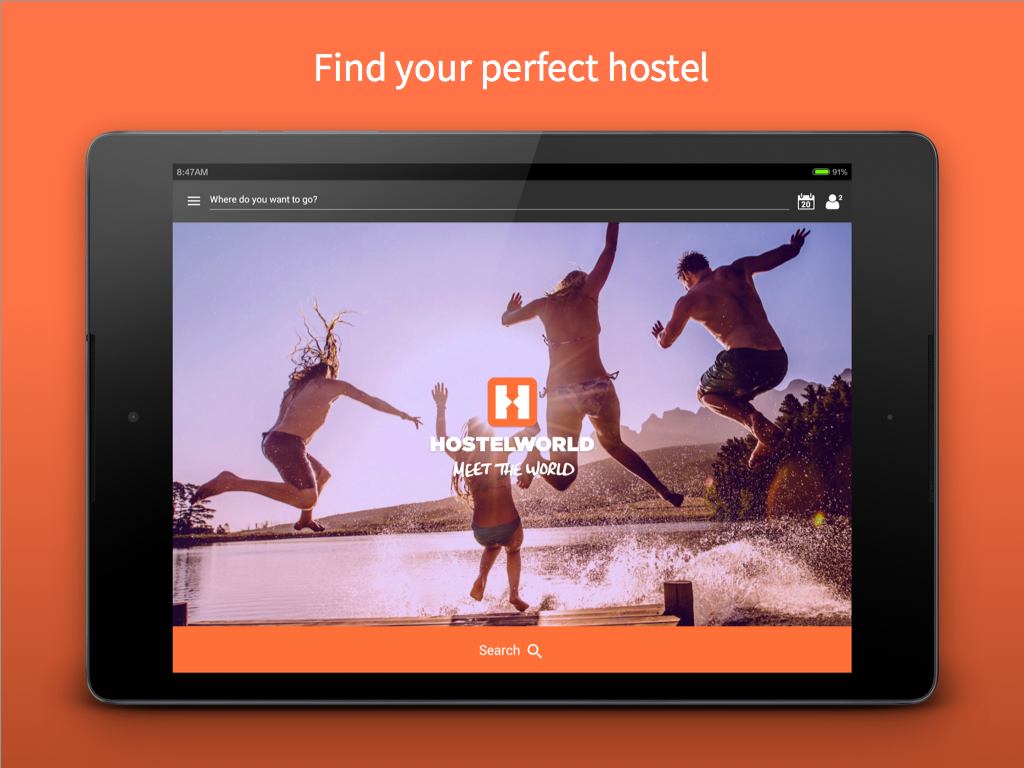 Hostelworld – book Hostels- screenshot