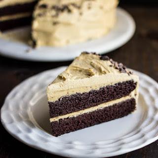 Chocolate Cake with Pumpkin Spice Frosting (GF + DF) Recipe