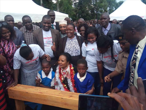 Bungoma WhatsApp group donates desks to needy pupils