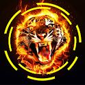 Fire Wallpaper HD - Lone Tiger icon