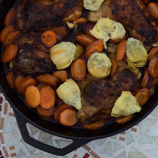 Artichoke & Carrot Skillet Chicken