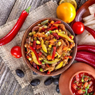 Spicy Southwest Chicken Fajita Bowl