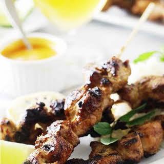 Lemongrass Chicken Satay.
