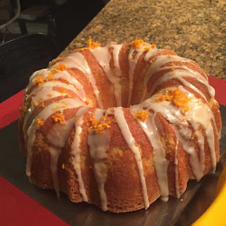 Sparkling Water Pound Cake