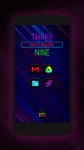Neon Glow – Icon Pack v8.2.0 2